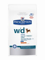 Hills Prescription Diet w/d Canine Mini with Chicken
