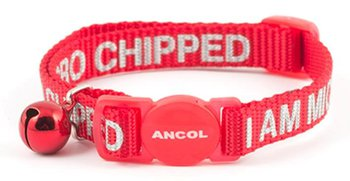 Ancol 'I Am Microchipped' Cat Collar