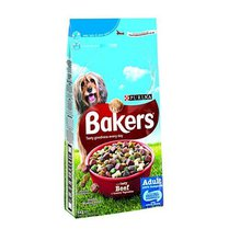 Bakers Complete Dog Food with Beef and Vegetables 5kg