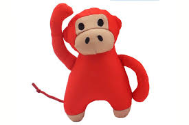 Beco Plush Michelle Monkey Dog Toy Large