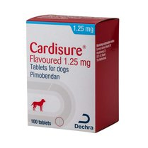 Cardisure Flavoured Tablets - 1.25mg (Box of 100)