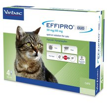 Effipro Duo Spot-On For Cats (Pack Of 4)