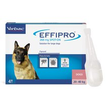 Effipro Spot-on for Dogs 20-40kg x 4 Pipettes