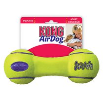 KONG Air Dog Squeaker Dumbbell Dog Toy - Large